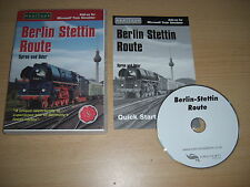 Berlino STETTINO via PC add-on di espansione MICROSOFT TRAIN SIMULATOR SIM MSTS