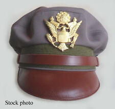Repro WW2 Crusher Cap US Army Air Force Officer's 'Pink' Elastique USAAF Size 58