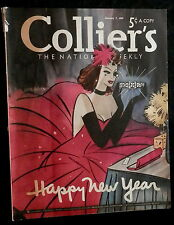 Collier's Magazine January 7 1939 COCA-COLA - BATHING SUITS - BRYAN FOY - G.O.P.