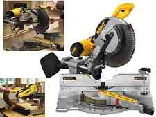 Miter Saws Slide Compound Blade Chop Cutting Wood Tool Equipment Kit DEWALT New
