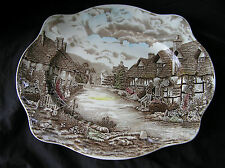 "Johnson Brothers OLDE ENGLISH Platter 15""x13"", NICE!"