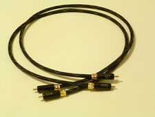 Schmitt Custom Audio WBT Locking RCA Interconnects 1 meter 1pr