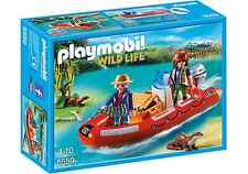Playmobil 5559 Wild Life - Bote hinchable con exploradores - New and sealed