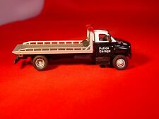 BOLEY GMC TOPKICK POLICE GARAGE ROLL BACK HAULER CAR TRANSPORT 1:87  HO SCALE