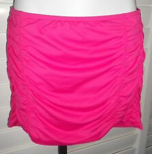 DKNY ROSE SHIRRED SWIM SWIMSUIT COVER UP SKIRT SIZE M NWT $72