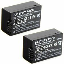 2x Battery for DMW-BMB9E Panasonic Lumix DMC-FZ40 DMC-FZ45 DMC-FZ47 DMC-FZ48 New