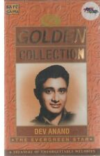 DEV ANAND - GOLDEN COLLECTION -NEW BOLLYWOOD SONGS AUDIO CASSETTE - FREE POST