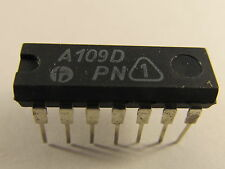 2x A109D RFT General Purpose OP Amp (AE11/3936)