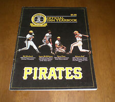 1984 PITTSBURGH PIRATES OFFICIAL YEARBOOK