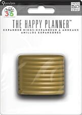 NEW MAMBI Create 365 Happy Planner Expander Rings Gold