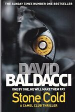 Stone Cold by David Baldacci - New Paperback Book