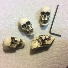 Made in USA Skull Guitar Pots tuning Knob fits Fender Strat Stratocaster 9APK4