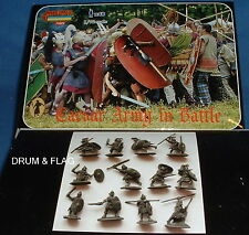 STRELETS M 89 CAESAR ROMANS / ROMAN ARMY IN BATTLE. 1/72 SCALE PLASTIC.