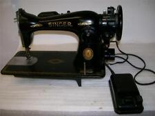 Singer Sewing Machine. Model 15. Serial# AK 926484. Gear Driven. (SM-74)