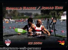 Ronald Rauhe TOP AK Orig. Sign. Kanu +A 61626