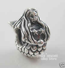 MERMAID 100% Authentic PANDORA Sterling Silver Charm~Bead 791220 NEW