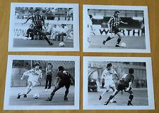 INTER FC 4 FOTO IN B/N DEL 93/94 MIS.18X24 cm UTILIZZO AGENZIE DI STAMPA Lot.02