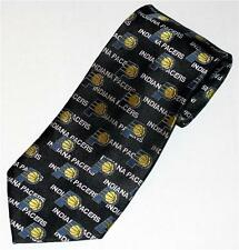"NBA Basketball Sports INDIANA PACERS Pure Silk Mens DRESS NECKTIE TIE 56"" New"
