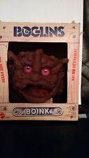 Vintage boglin mattel-boink, marionnette à main coffret