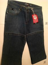 CIRCA MENS STAPLE COLLECTION STRECTH DENIM MEDIUM WASH PANTS SIZE 32
