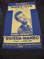 Partition Jambo-Jive de Jack Ary Riveira-Mambo mambos 1955