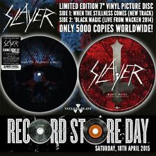 "SLAYER - When The Stillness Comes Picture 7"" Limited Record Store Day Edition"