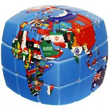 United Nations V-CUBE 3b  Challenging V-Collections Brainteaser 3x3 Puzzle Cube