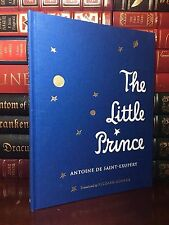 The Little Prince by Saint-Exupery New Illustrated Deluxe Clothbound Collectible