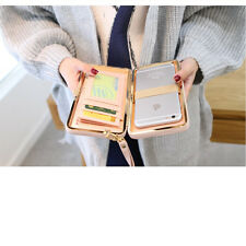Famous Card Holder Cell Phone Pocket Purse Clutch Wallet for Women