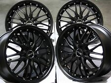 "18"" STEALTH ALLOY WHEELS FITS JAGUAR X TYPE S TYPE XF XJ XK J43 ALFA ROMEO 166"