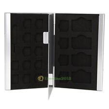 21 in 1 Aluminum SIM Micro Nano SIM Card Pin Storage Box Case Holder Protector