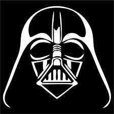 Darth Vader Sticker / Decal - Choose Color & Size - Star Wars Sith Lord Force