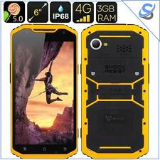 MFox A10 PRO Military Standard Smartphone IP68 6 Inch Octa Core 1.7GHZ Yellow