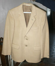 Mens 100% Cashmere Sports Coat Baron of Piccadilly Size 36 Made in England