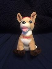 Rudolph Island of Misfit Toys Clarice  Plush Bean Ornament Prestige NY  2000