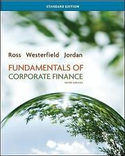 Fundamentals of Corporate Finance Standard Edition (Mcgraw-Hill/Irwin Series in