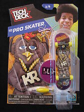 NEW! TECH DECK TD Pro Skater KR Romar's 3/6 Finger board Display Stand