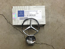 Genuine OEM Mercedes Benz C E S Class W204 W211 W212 V221 V222 Hood Emblem Star