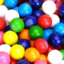 "Dubble Bubble ASSORTED Gumballs Bulk Vending 3/4"" 19mm 5 lbs Aprox 700 New"