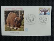 FRANCE FDC 1974 BISON WISENT FIRST DAY COVER c1013