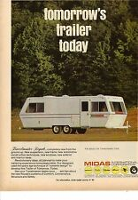 Original 1971 Midas Travel Trailer Magazine Ad