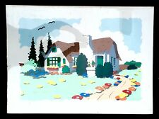 "BOB ZOELL - ""HOUSE"" - SIGNED & NUMBERED SERIGRAPH"