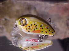 Matzuo Ultra Lite Nanno 5/32oz NC2-BTR in BROWN TROUT for Panfish/Trout/Perch