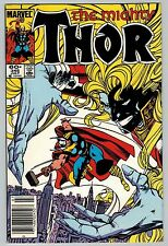Thor #345 1984 (C6374) 2nd Appearance of Malekith the Accursed - Movie - Key
