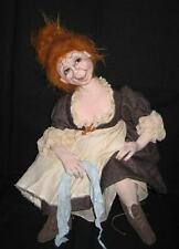 "*NEW* CLOTH ART DOLL (PAPER) PATTERN ""JEANNE"" THE INNKEEPER'S WIFE"""