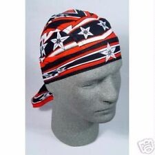 Red Black Grey Moto Cross Star Biker Durag Headwrap Zan Headgear Free Shipping