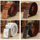 Men's Luxury Leather Automatic Buckle Belt Casual Waistband Waist Strap Belts