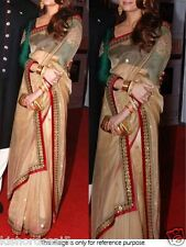 Saree Exclusive Beautiful Designer Bollywood Indian Saree Partywear Sari 25