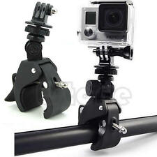 Handlebar Clamp Roll Bar Mount +Tripod Adapter for GoPro Hero 1 2 3+ Camera Bike