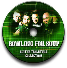 BOWLING FOR SOUP POP PUNK ROCK GUITAR TABS TABLATURE SONG BOOK SOFTWARE CD